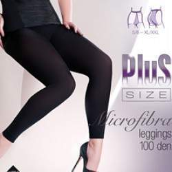 Gabriella 8375 Long 100 leggings - Plus Size