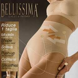 Bellissima 026 Shaper Push-up magasderekú női slip