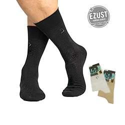 Ezüstszálas zokni