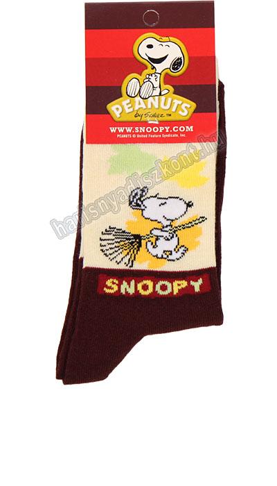 Snoopy gyerek bokazokni - seprűs -   hdiShop.hu   d7fa9ea305