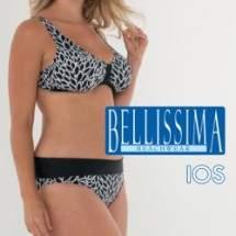 Bellissima IOS mintás bikini - D kosár