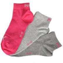 Puma Quarter női zokni - 3 pár