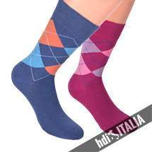 HDI Italia kárómintás zokni