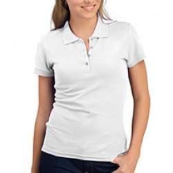 Sols 11310 People női galléros póló - fehér