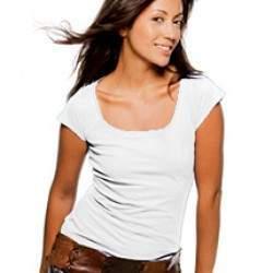 Sols 11385 Melrose női póló - fehér