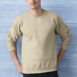 Gildan 18000 unisex kereknyakú pulóver - színes