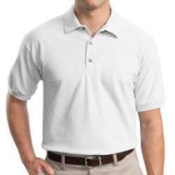 Gildan 3800 teniszpóló - fehér 3XL