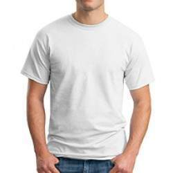 Gildan 4100 prémium pamut póló - fehér