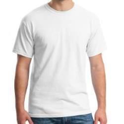 Gildan 5000 pamut póló - fehér