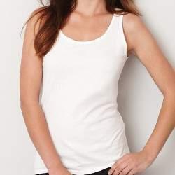 Gildan 64200L női trikó - fehér