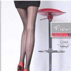 Fiore Gina 20 lurex csíkos harisnya