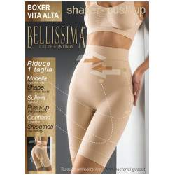Bellissima 027 Shaper Push-up női magas derekú boxer