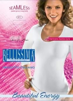 Bellissima 071 Americano seamless 3-4 ujjú póló