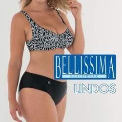 Bellissima Lindos mintás bikini - D kosár