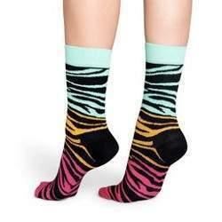Happy Socks BZ01-073 zebra mintás zokni