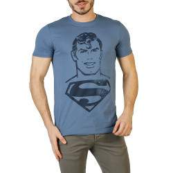 DC Comics Superman Acid Wash férfi rövid ujjú póló