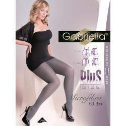 Gabriella 8216 Microfibra 60 harisnya - Plus Size