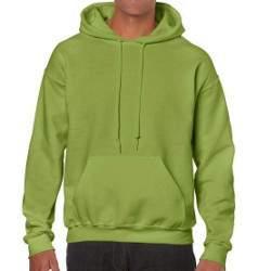 Gildan 18500 unisex kiwi kapucnis pulóver - AKCIÓS!