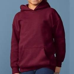 Gildan 18500B gyerek kapucnis pulóver