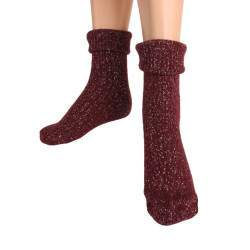 HDI Cool lurexes gyapjú bakancs zokni