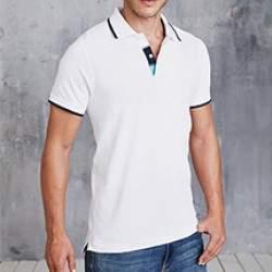Kariban K245 férfi galléros póló