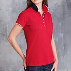 Kariban K252 női rövidujjú galléros póló
