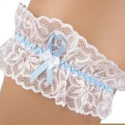 Kék szalagos harisnyakötő