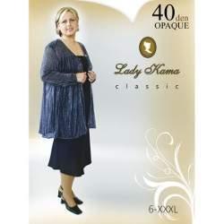 Lady Kama Antonia 40 nagyméretű harisnya