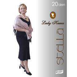 Lady Kama Stella 20 nagyméretű harisnya
