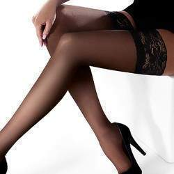 Marilyn Erotic 15 csipkés combfix