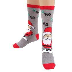 HDI télapós pamut zokni