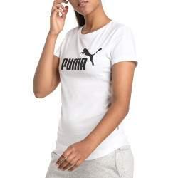 Puma ESS Logo Tee női póló - fehér