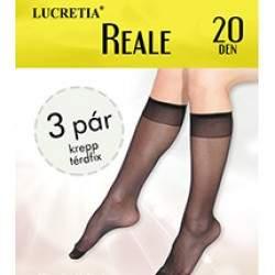 Lucretia Reale térdfix 20 den - 3 pár