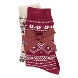 Triumph Accessories AW17 norvég mintás pamut zokni - 2 pár