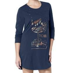 Triumph Nightdresses AW17 mintás pamut hálóing