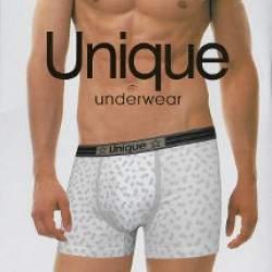 Unique UB1512 férfi mintás boxer - 2 db