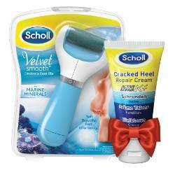Scholl Velvet Smooth elektromos sarokreszelő - ajándékkal