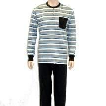 Oneway 2301 csíkos férfi pizsama