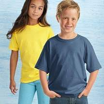 Gildan 5000B pamut gyermek póló - 5db