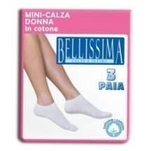 Bellissima B66 Mini-Calza Donna női pamut fitness zokni - 3 pár
