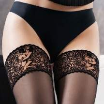 Gatta Calze-03 sexy mintás combfix