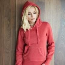 Kariban K463 Melange női kapucnis pulóver