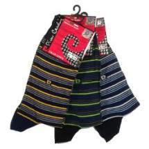 Pierre Cardin 3052 férfi pamut zokni - 3 pár