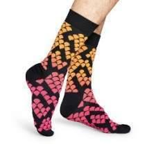 Happy Socks SNK37 domború kígyómintás zokni