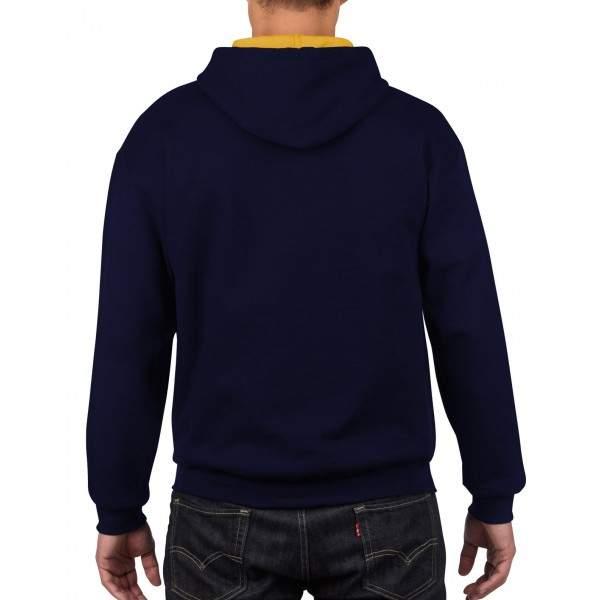 Gildan 185C00 unisex kapucnis pulóver