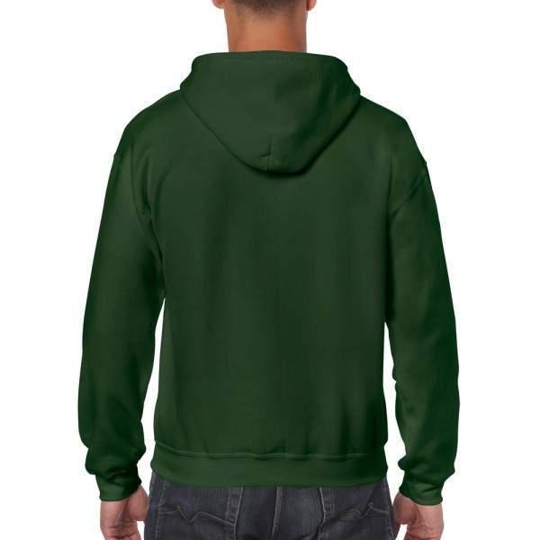 Gildan 18600 cipzáros kapucnis pulóver