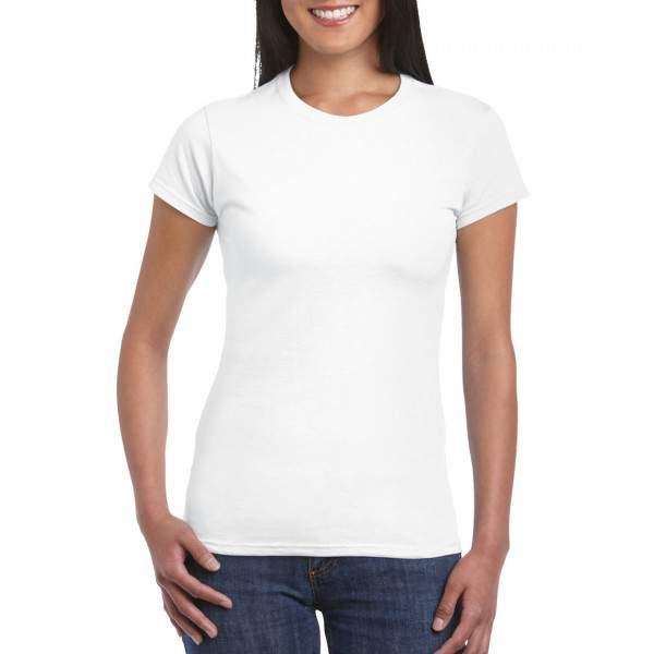 Gildan 64000L női környakú rövid ujjú póló
