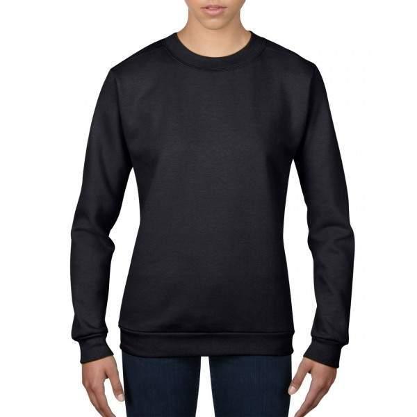 Anvil 71000L női kereknyakú pulóver