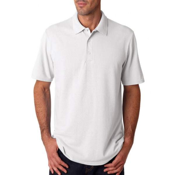 Gildan 94800 férfi piké póló - fehér -   hdiShop.hu   7029fe85e0