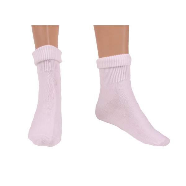 Katia 9510 Angora fehér bokacsizma zokni